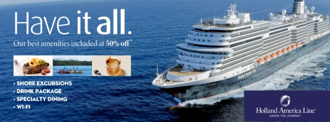 Holland America Have It All Sale