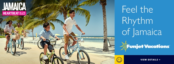 Jamaica Heartbeat of the World: Feel the Rhythm of Jamaica. Funjet Vacations. Learn more.